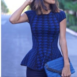 Peplum top TORN by Robby Kobo